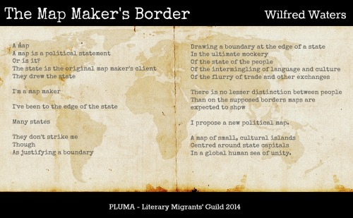 The Map Maker's Border by Wilfred Waters