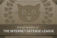 Internet Defense League Proud Member