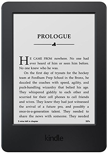 Kindle E-Reader, Glare-Free Touchscreen Display